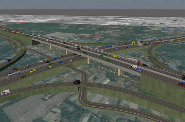 11. .Conceptual Design of Madanpur Intersection