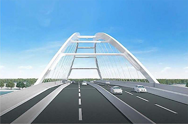 Cross Border Road , Kalna Bridge