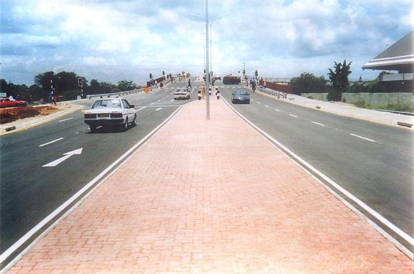 Francistown-Matsiloje Road. Botswana
