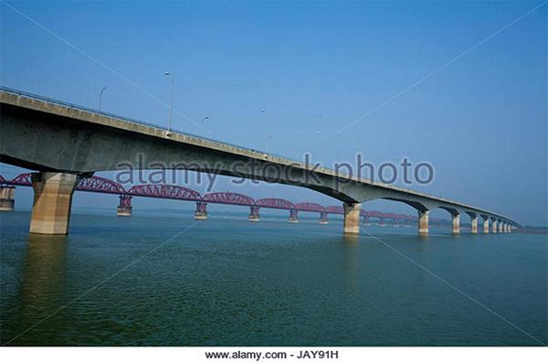 Lalon Shah Bridge at Paksey