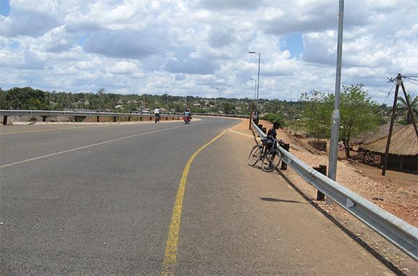 Pic 1. Gurue Magige Road,