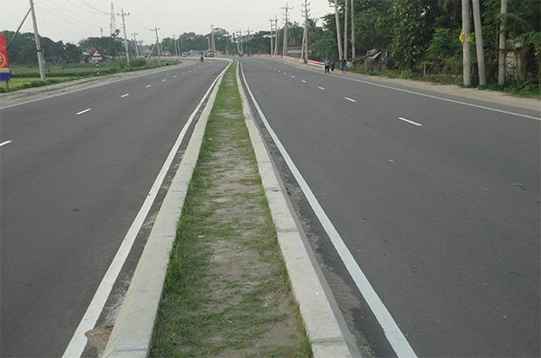 Pic 1.Joydebpur Mymensingh Road