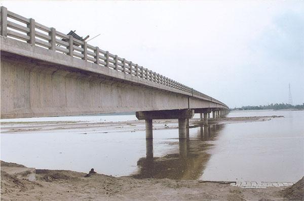 Pic 1.Teesta Bridge